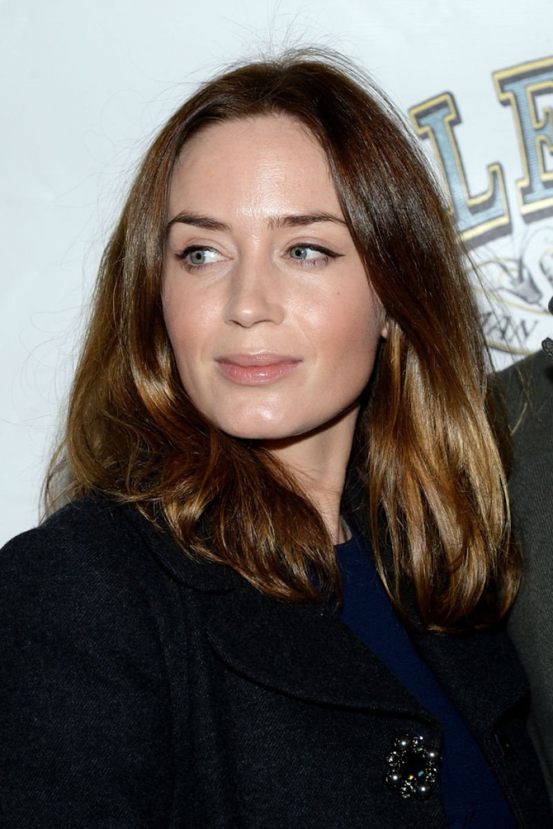 EMILY BLUNT at The Elephant Man Broadway Opening Night in New York ... Emily Blunt