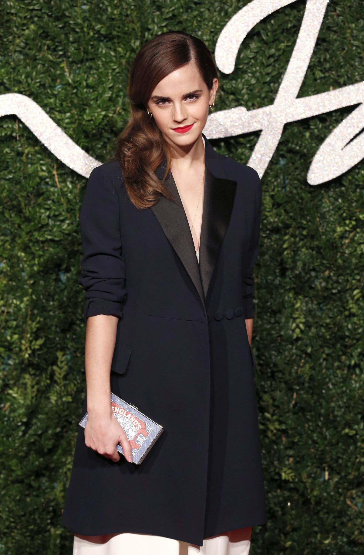Emma Watson At British Fashion Awards 2014 In London Hawtcelebs