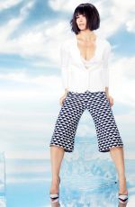 EVANGELINE LILLY in Ocean Drive Magazine, January 2015 Issue