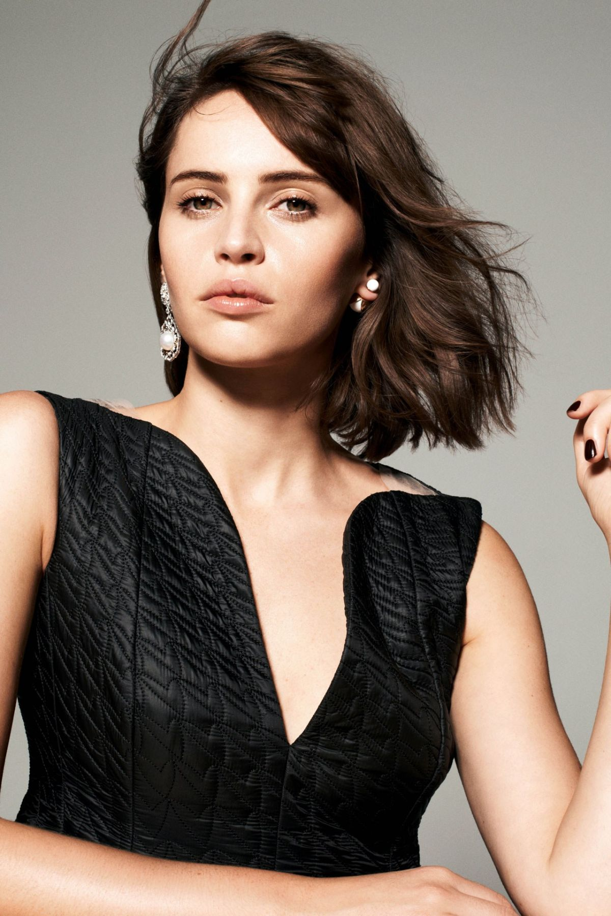 FELICITY JONES in Tatler Magazine, January 2015 Issue - HawtCelebs ...