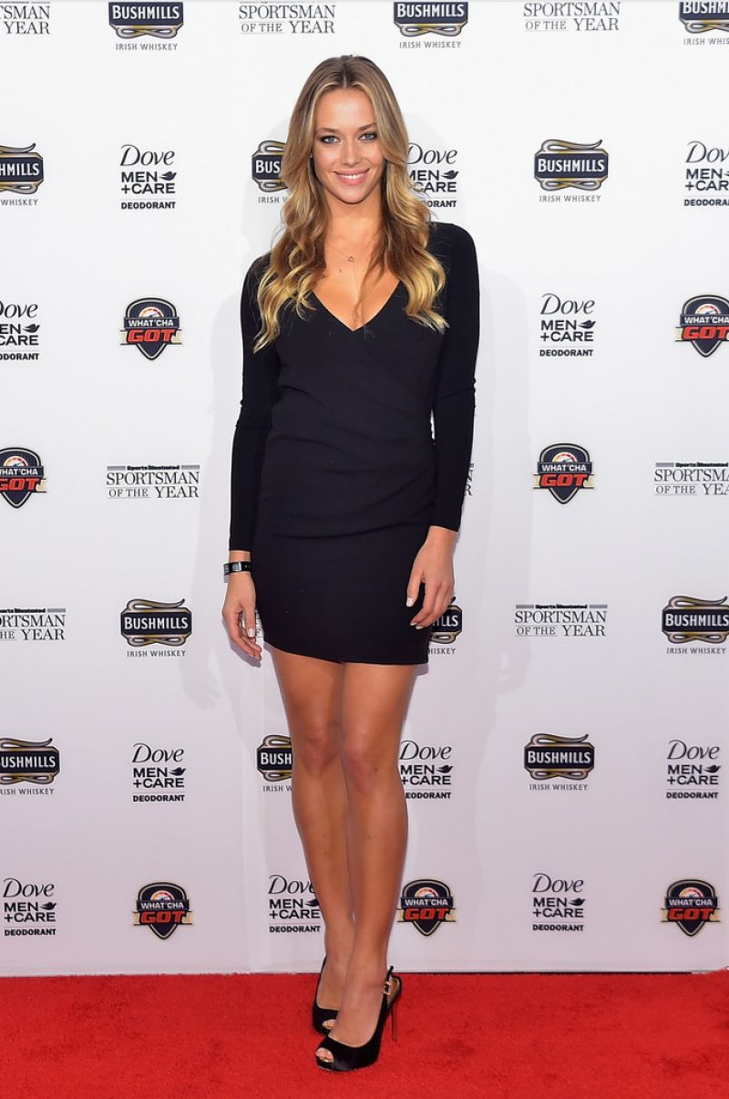 HANNAH FERGUSON at SI Sportsman of the Year 2014 Ceremony in New York