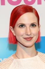 HAYLEY WILLIAMS at 2014 Billboard Women In Music Luncheon in New York
