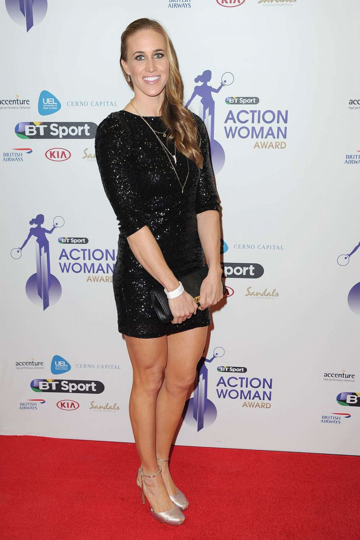 HELEN GLOVER at BT Sport Action Woman Awards