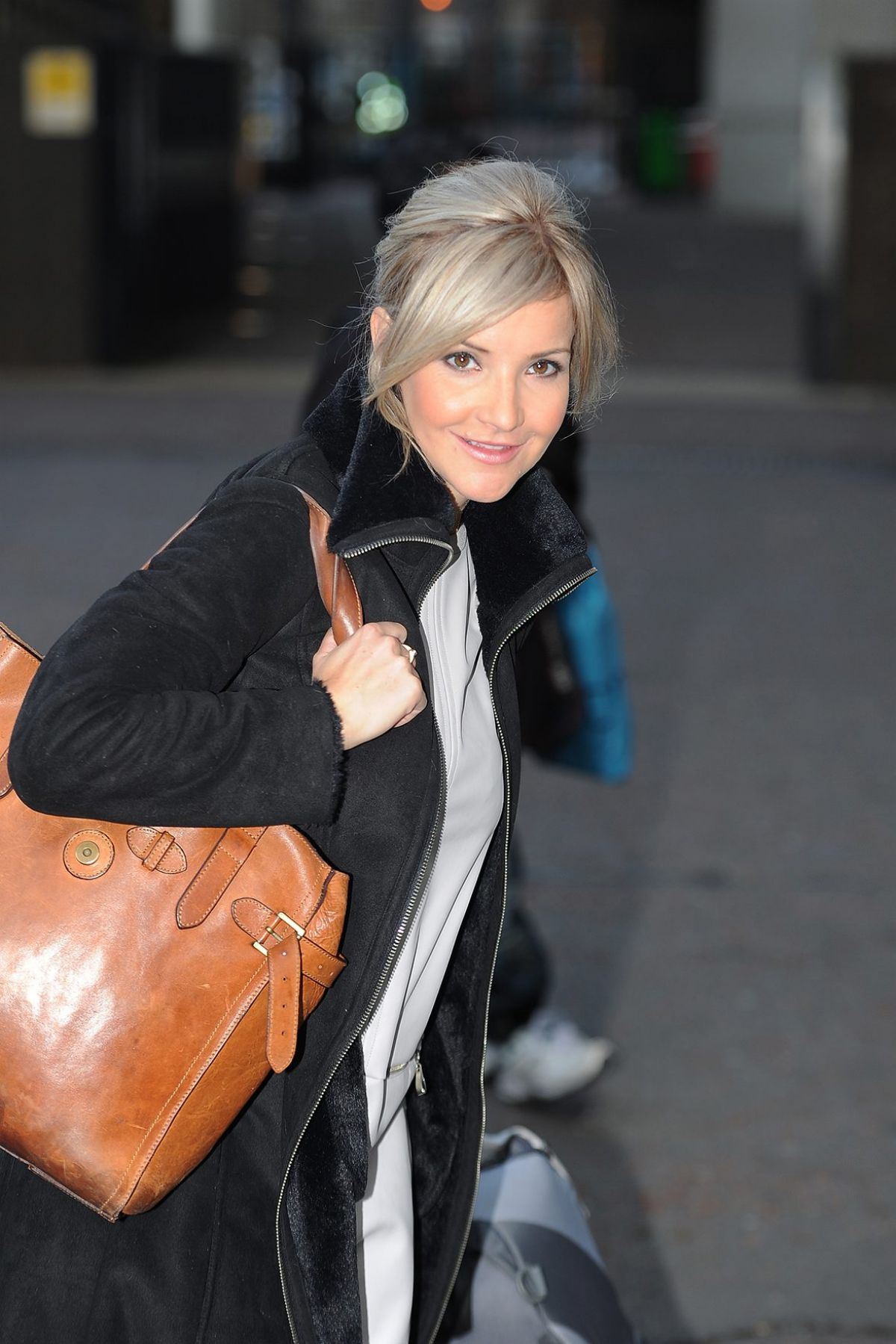 HELEN SKELTON Leaves ITV Studios in London 0312