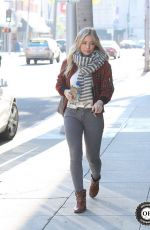 HILARY DUFF Out in Beverly Hills 2912