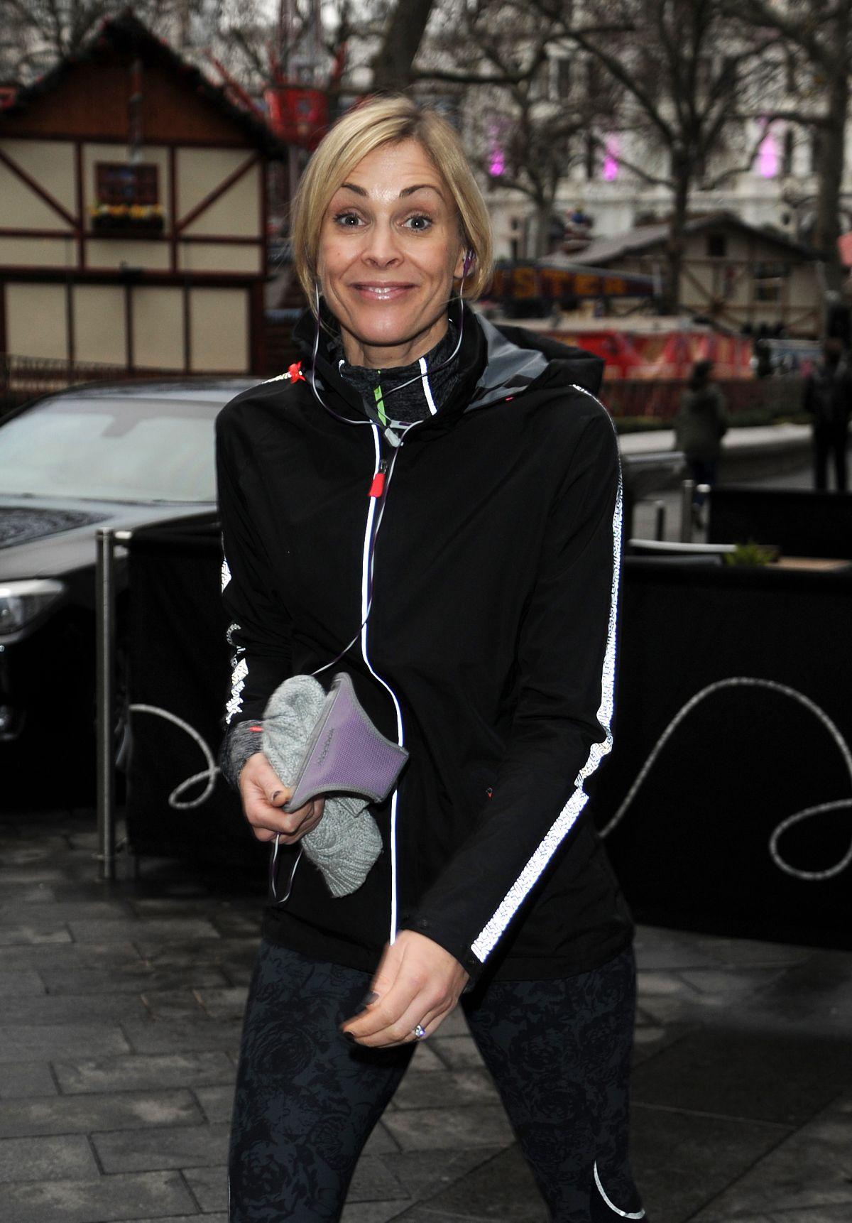 JENNI FALCONER Out Jogging in London