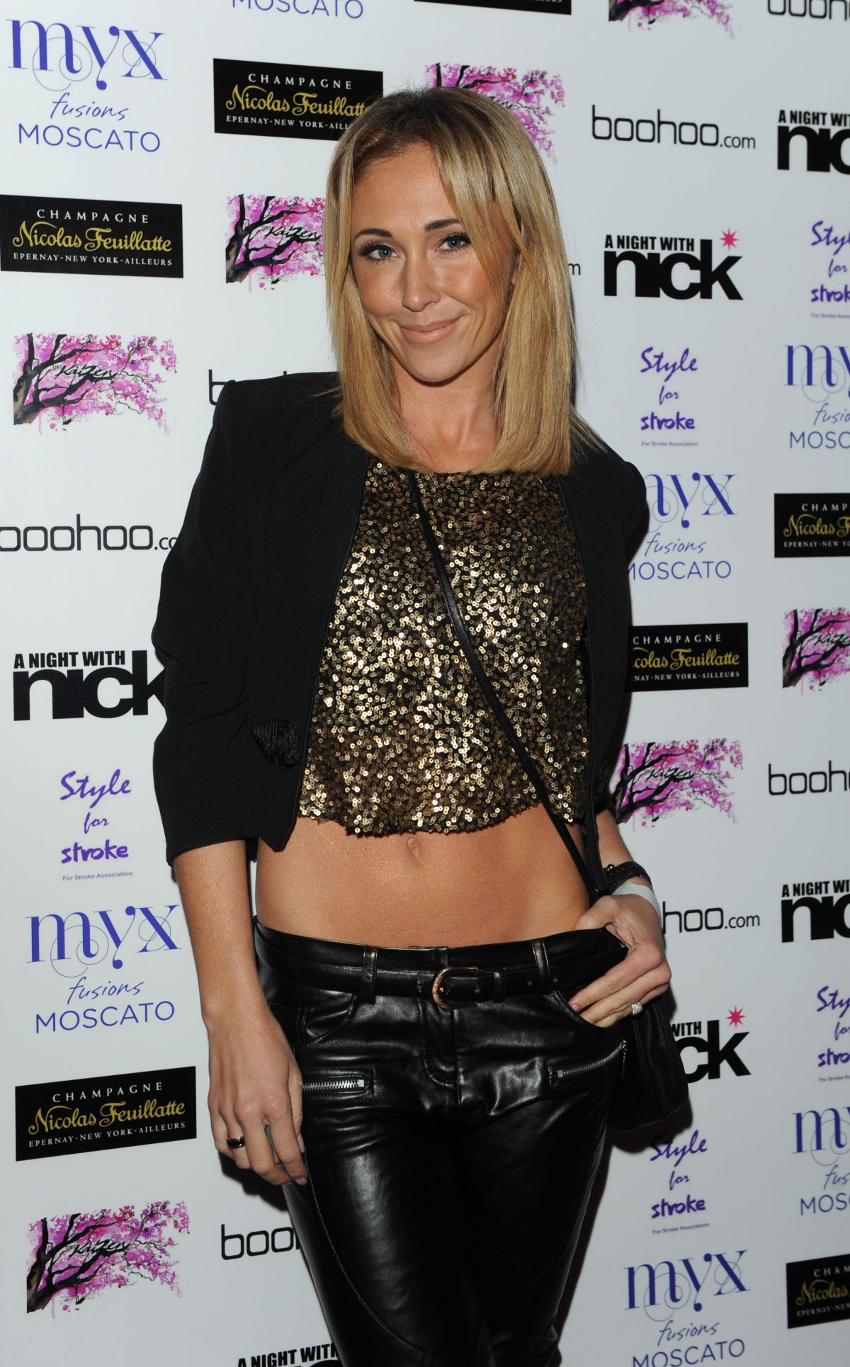JENNY FROST at Night with Nick in London