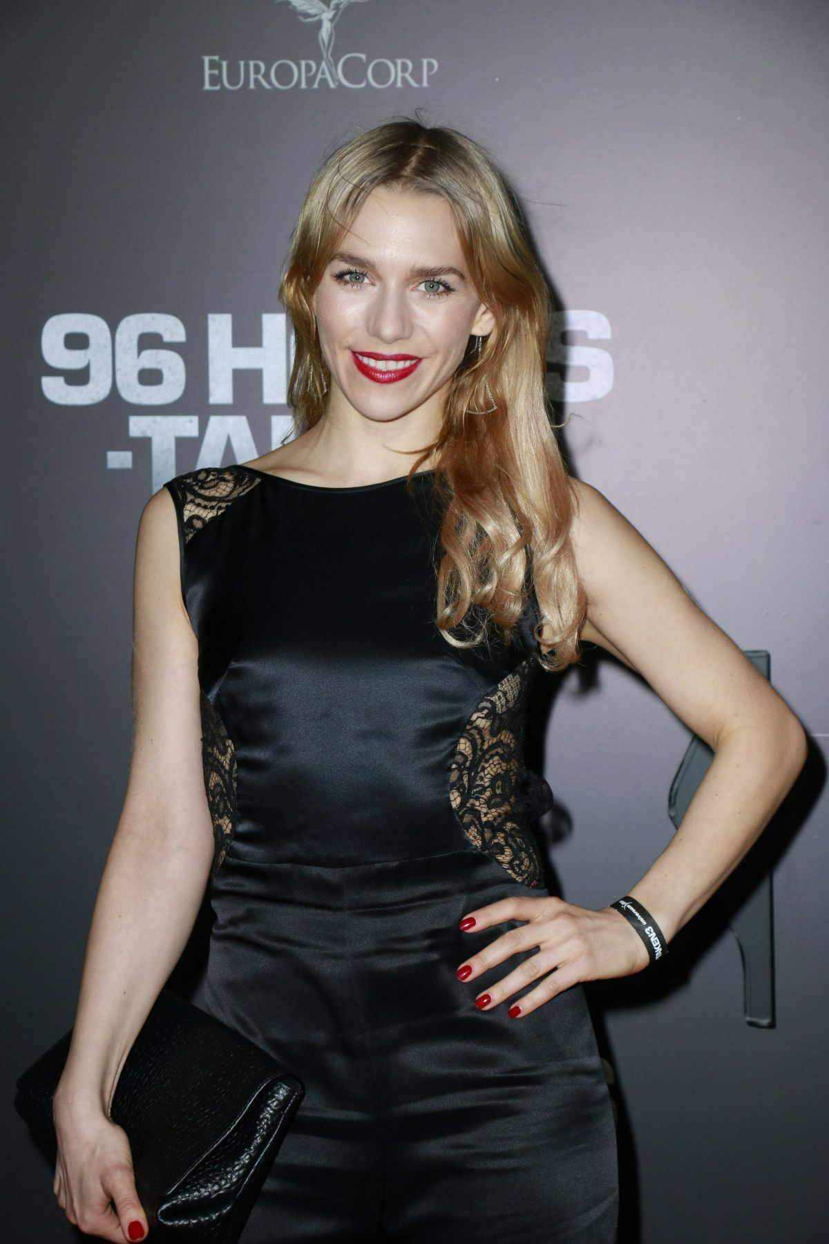 JULIA DIETZE at 96 Hours - Taken 3 Premiere in Berlin