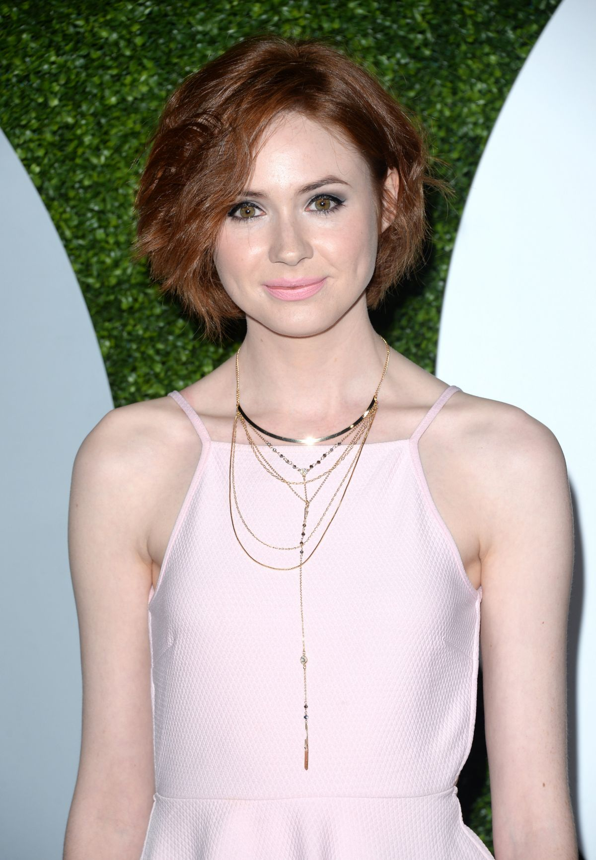 karen gillan at 2014 gq men of the year party in los