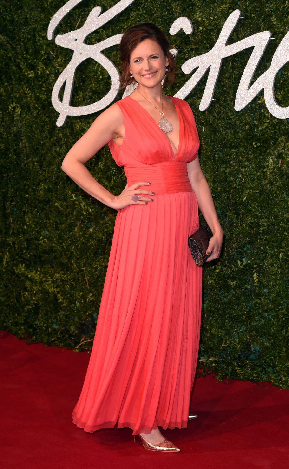 KATIE DERHAM at British Fashion Awards 2014 in London