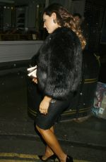 KELLY BROOK at Sunday Times Style Christmas Party in London