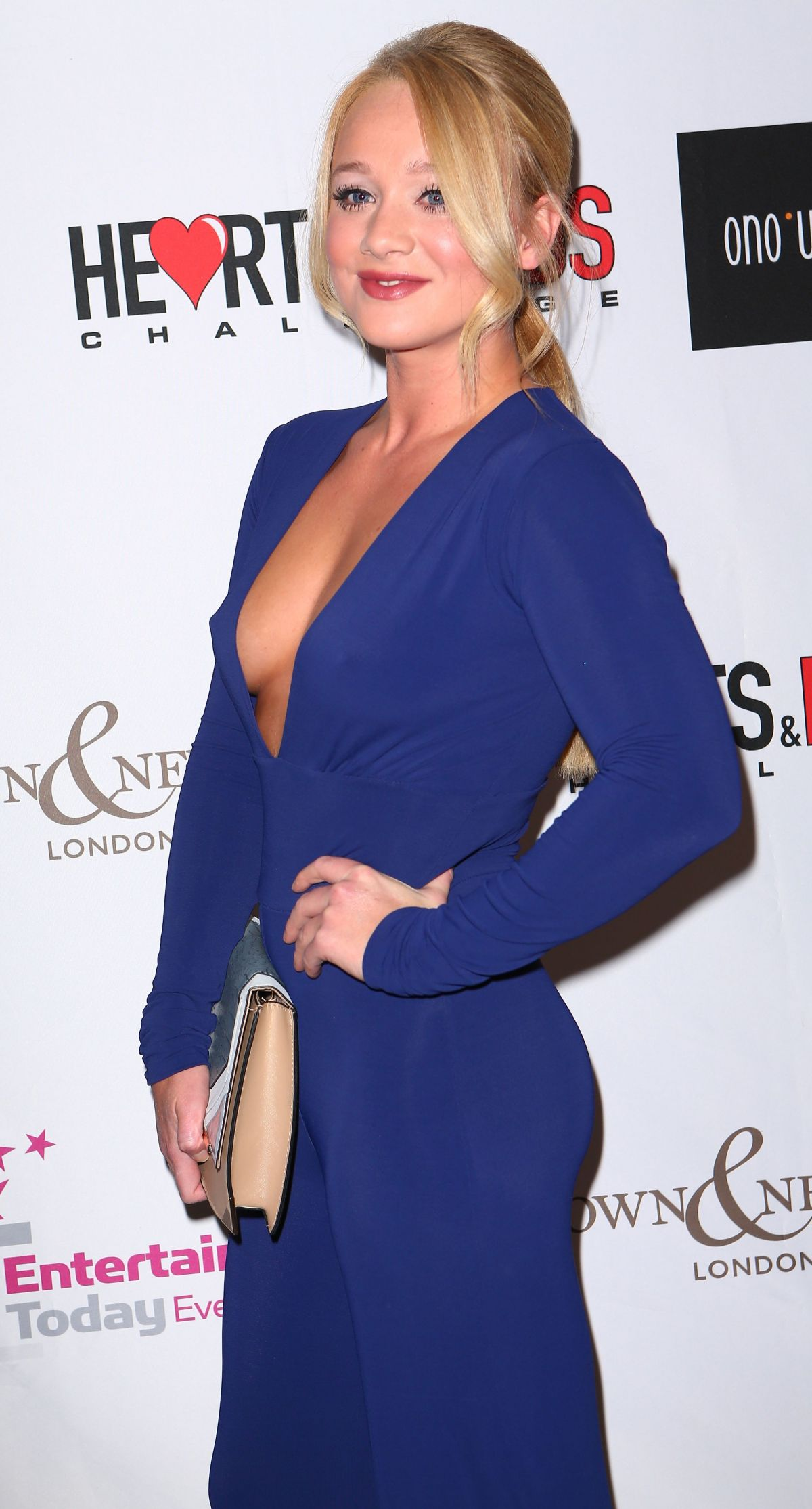 KIRSTY-LEIGH PORTER at Hearts & Minds Studio 54 Ball