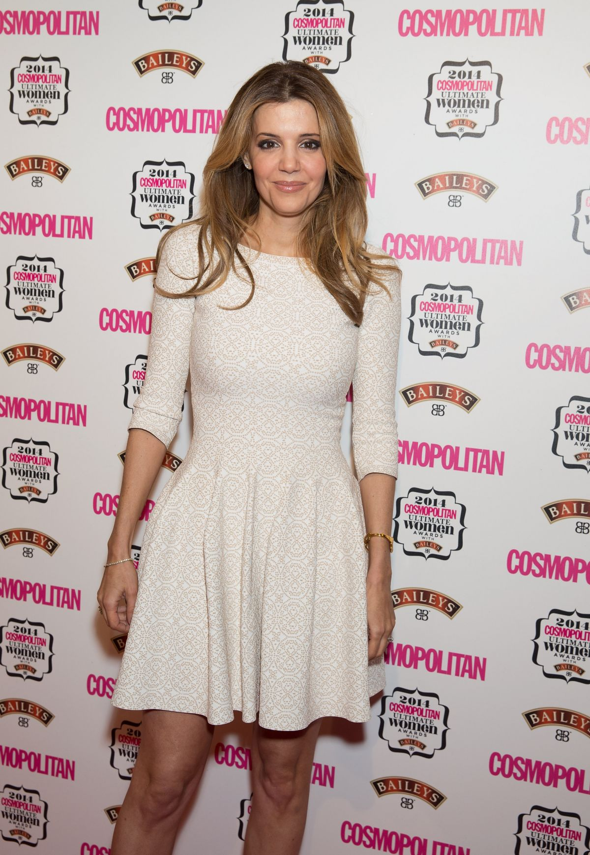 LINDA PAPADOPULOS at Cosmopolitan Ultimate Women Awards 2014 in London