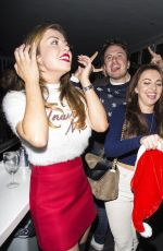 LOUISA LYTTON and ABI CLARK at Nu Bar Loughton in Essex