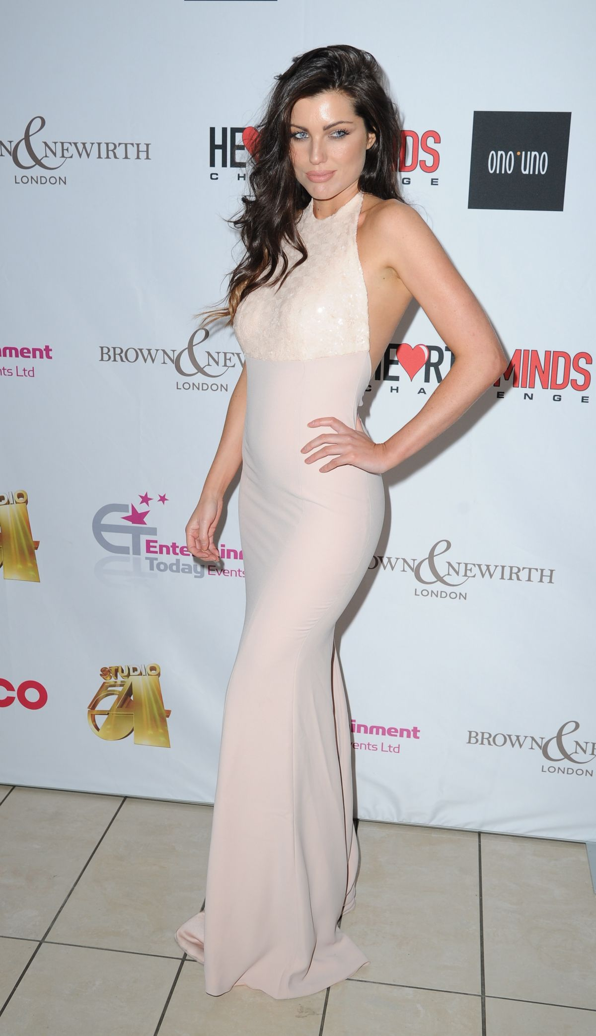 LOUISE CLIFFE at Hearts and Minds Charity Dinner in Manchester