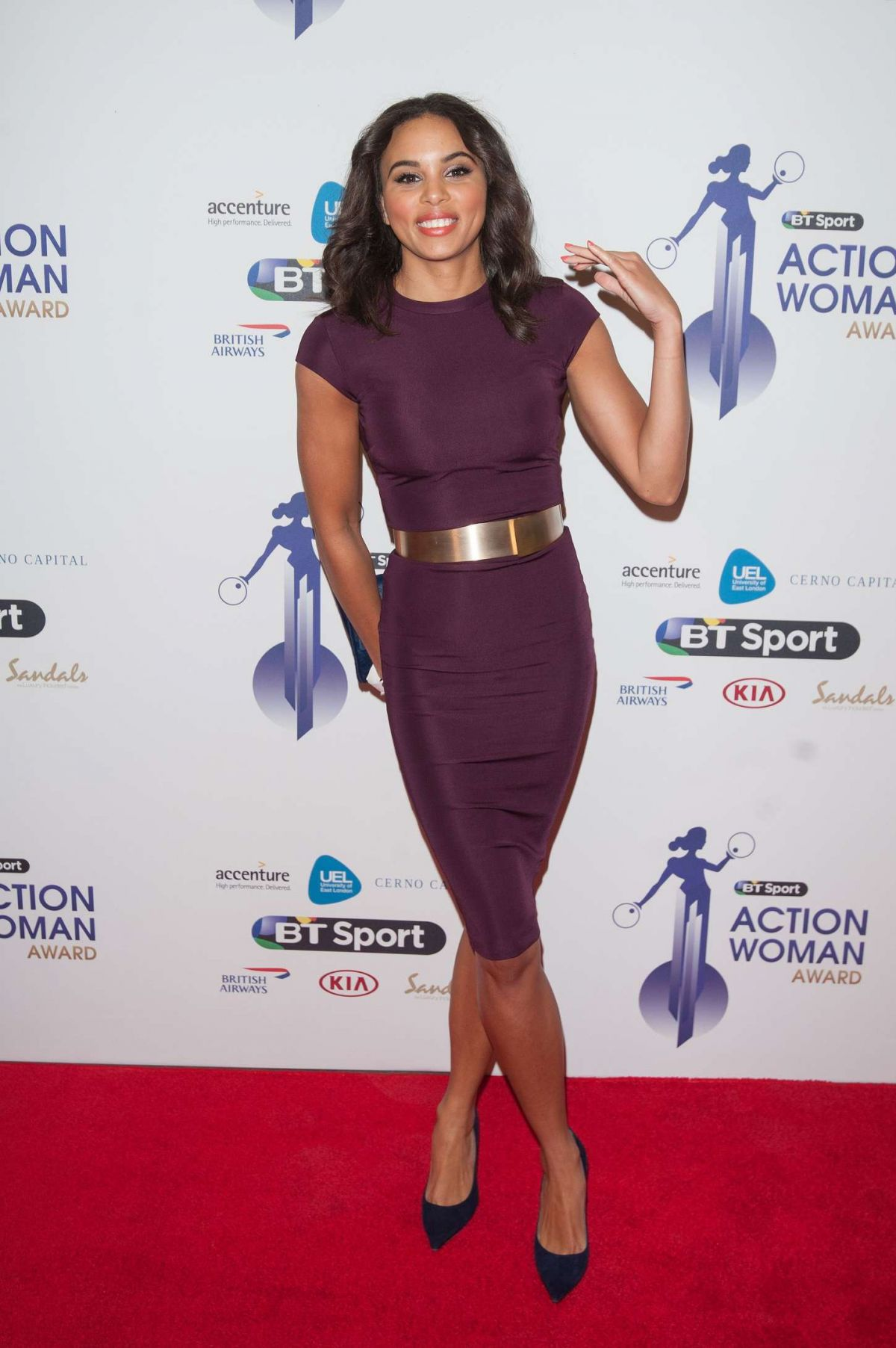 LOUISE HAZEL at BT Sport Action Woman Awards