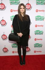 MAIA MITCHELL at ABC Family's 25 Days of Christmas Einter Wonderland in New York