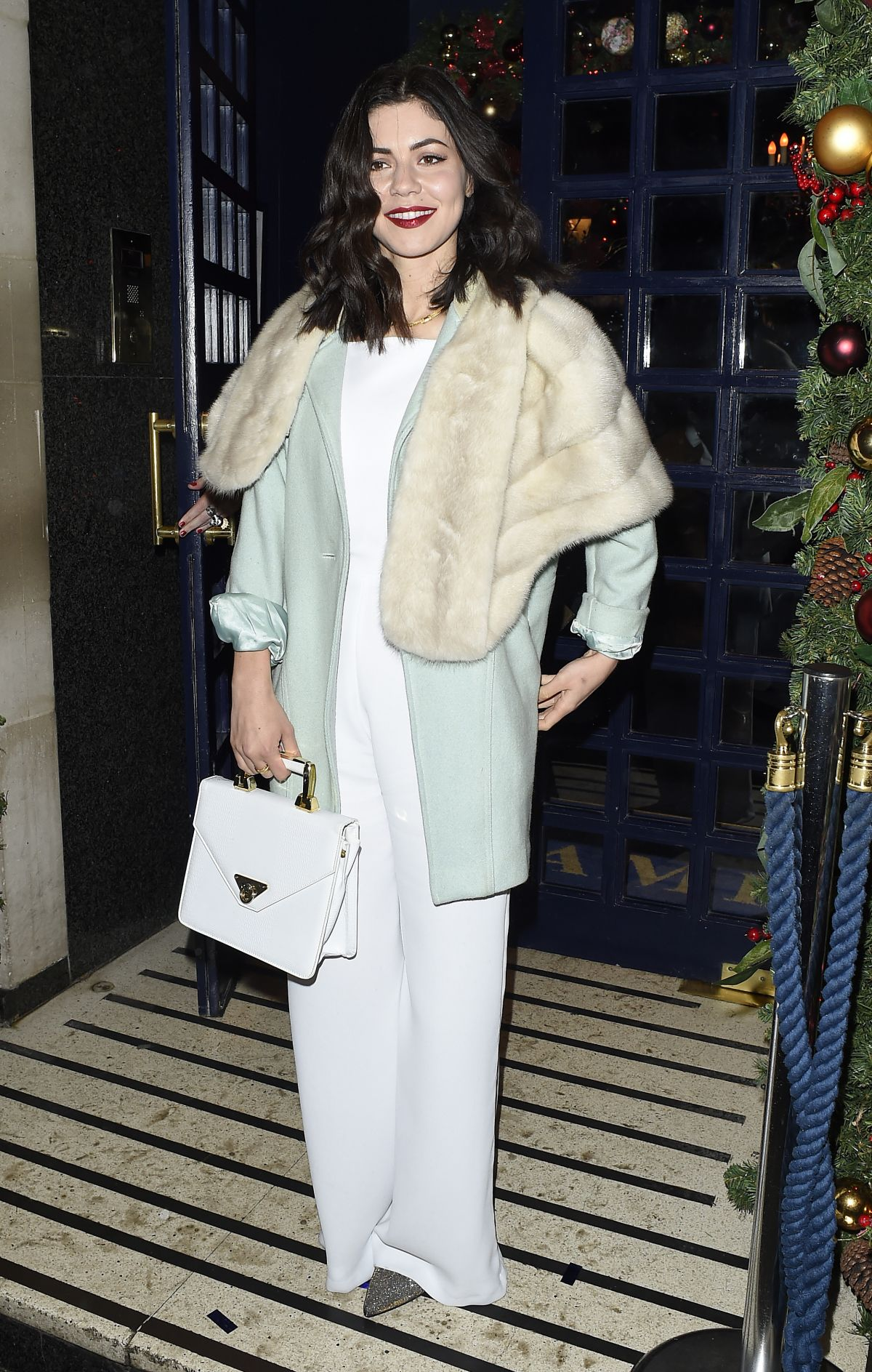 MARINA DIAMANDIS at Sunday Times Style Christmas Party in London
