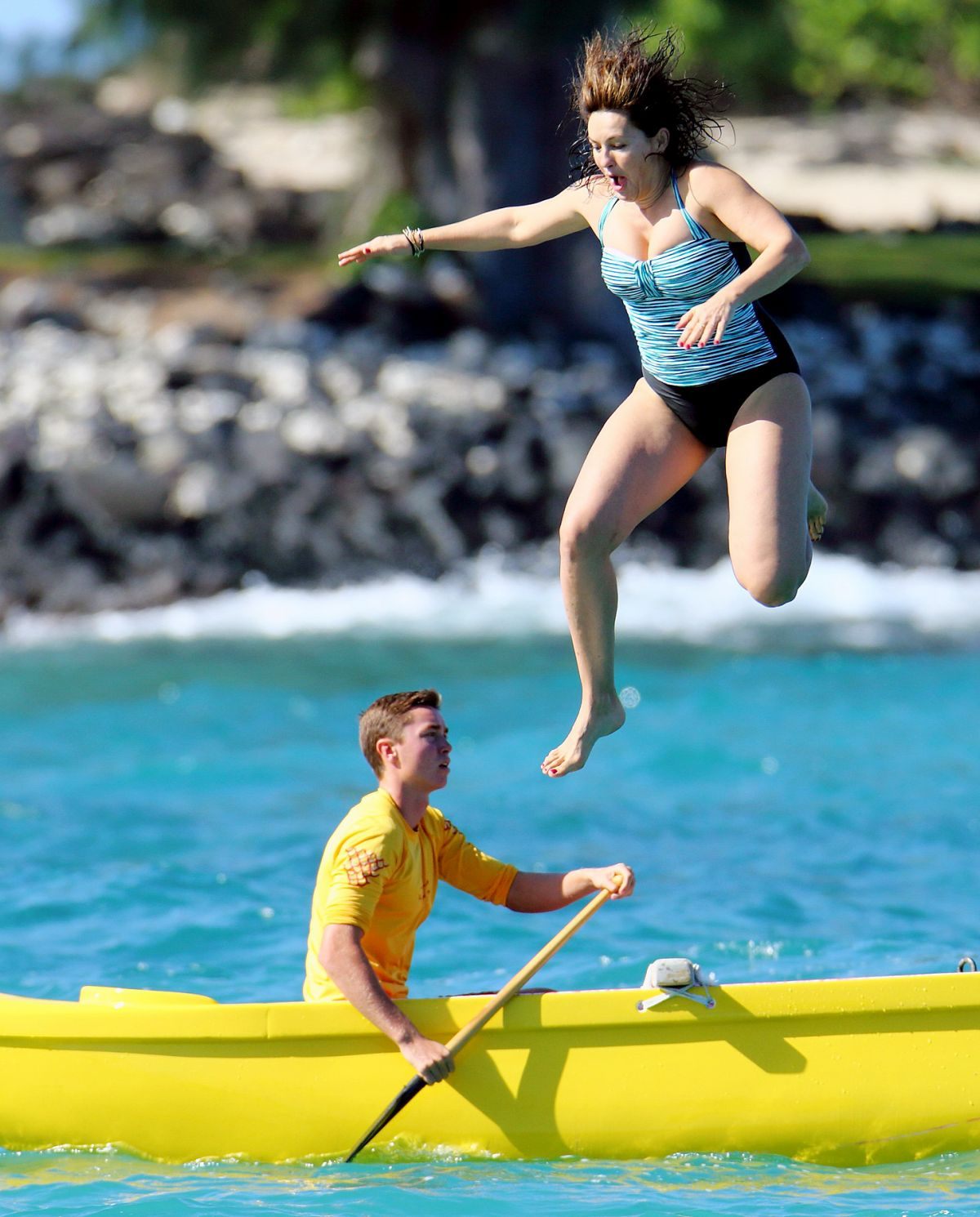 Suggest you Mariska hargitay photos swimming