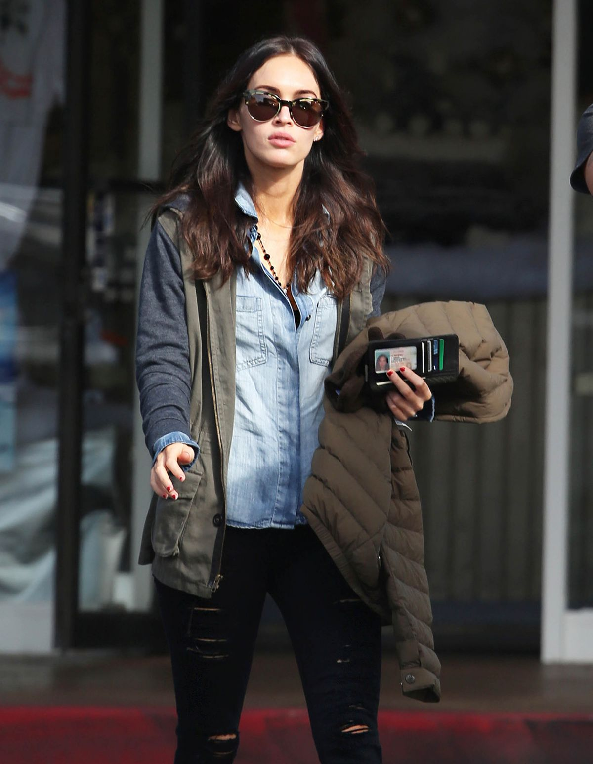 MEGAN FOX Out and About in Bel Air 1512