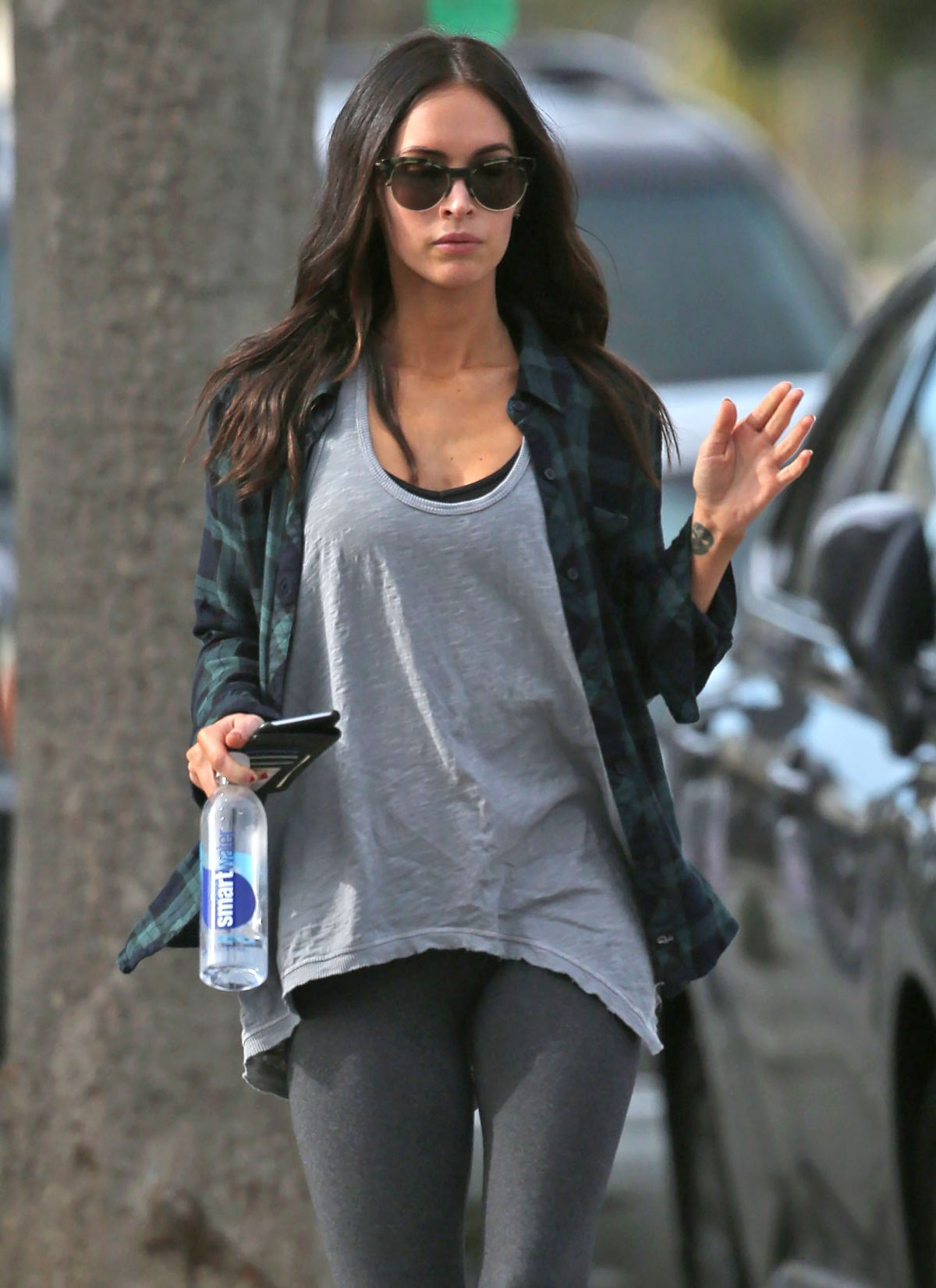 MEGAN FOX Out and About in Los Angeles 1412