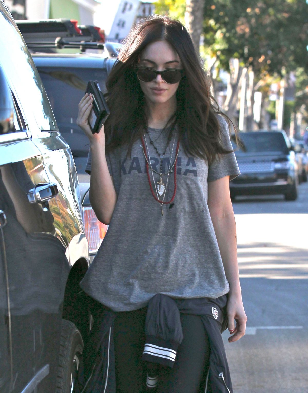 MEGAN FOX Out and About in Los angeles 2212