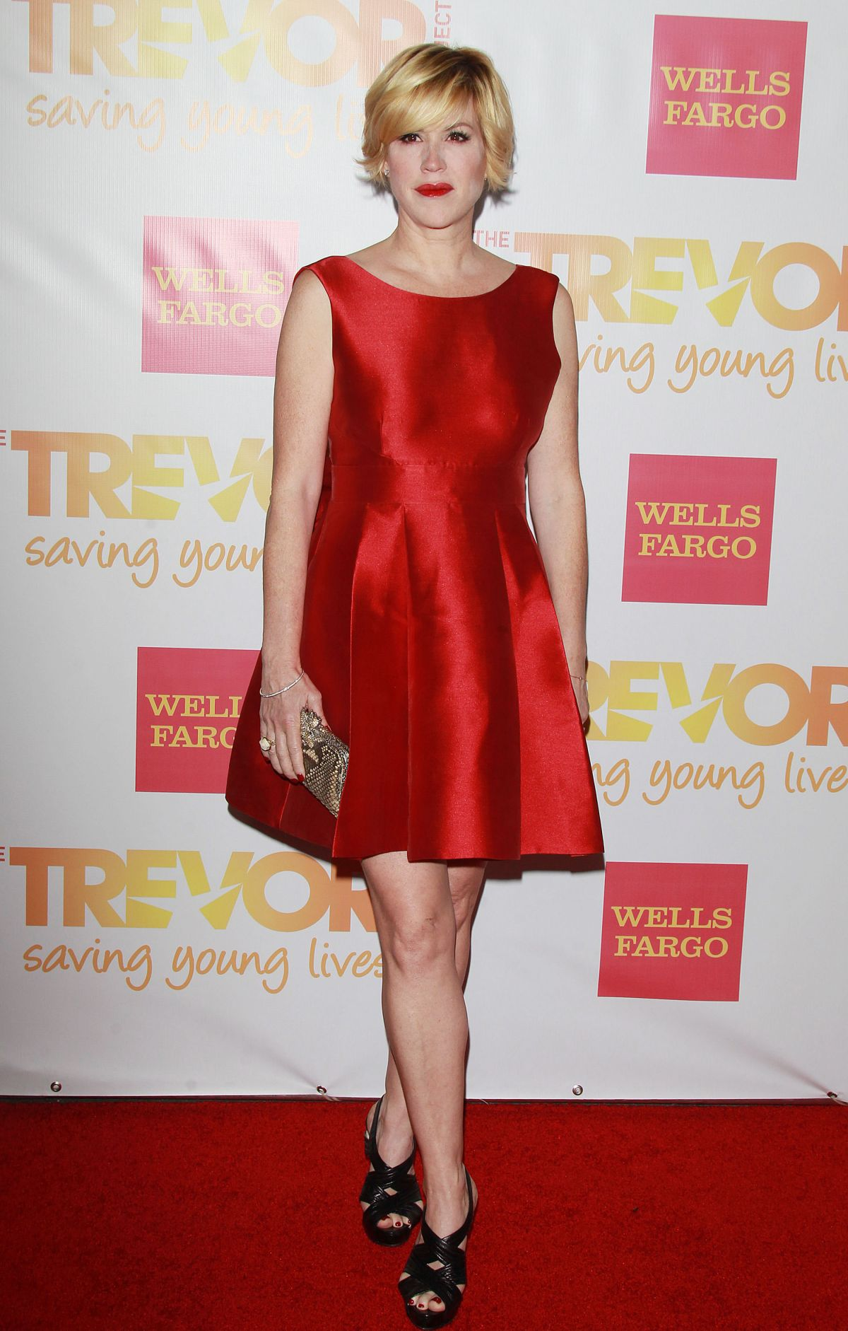 MOLLY RINGWALD at at The Trevor Project: TrevorLive Event in Los Angeles