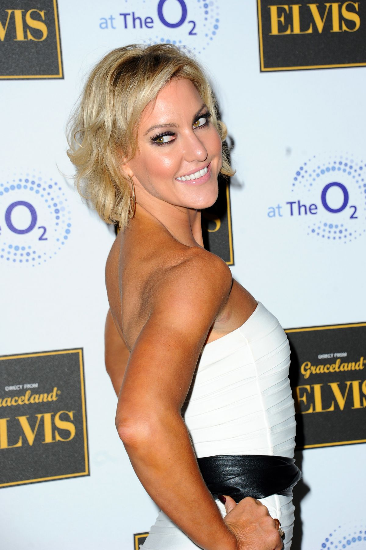 NATALIE LOWE at Elvis at the O2 Exhibition in London