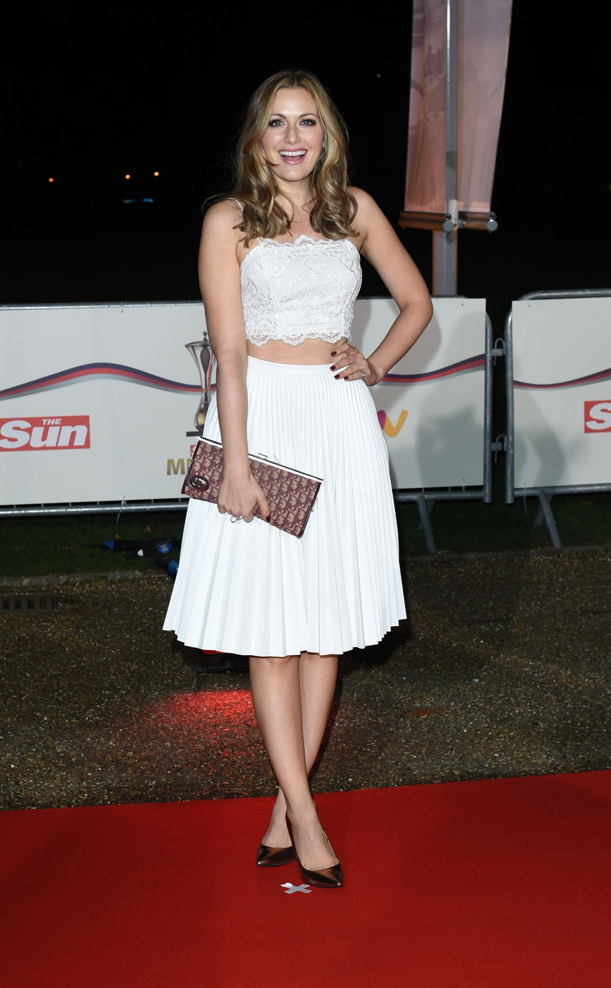 OLIVIA LEE at A Night of Heroes: The Sun Military Awards in London