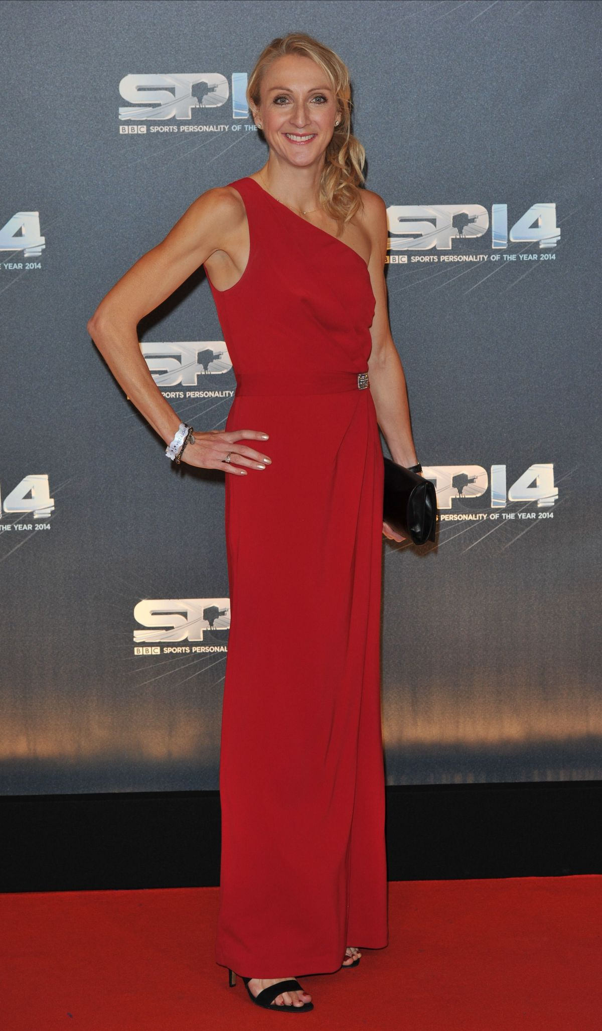 PAULA RACLIFFE at BBC Sports Personality of the Year Awards in Glasgow
