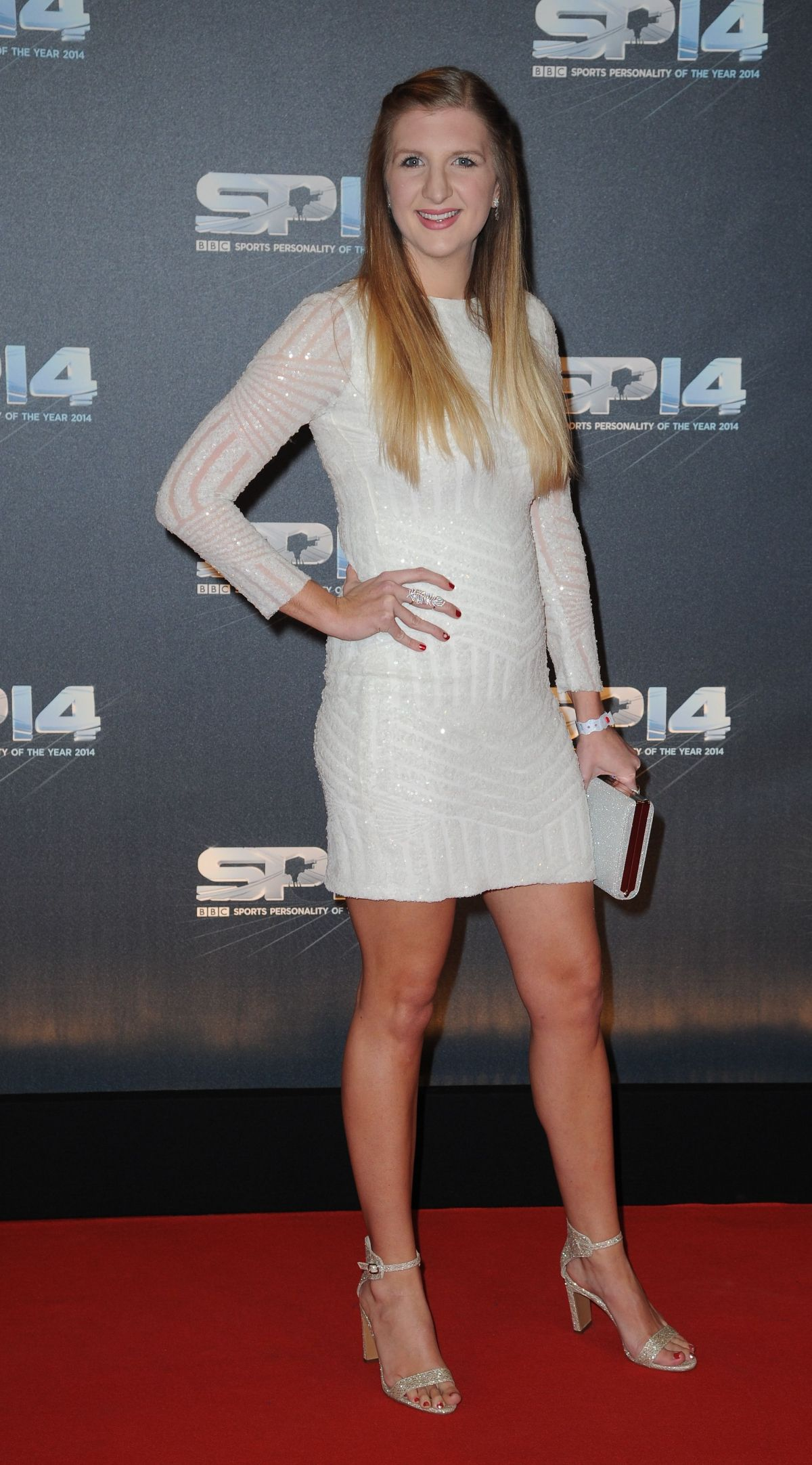 REBECCA ADLINGTON at BBC Sports Personality of the Year Awards in Glasgow