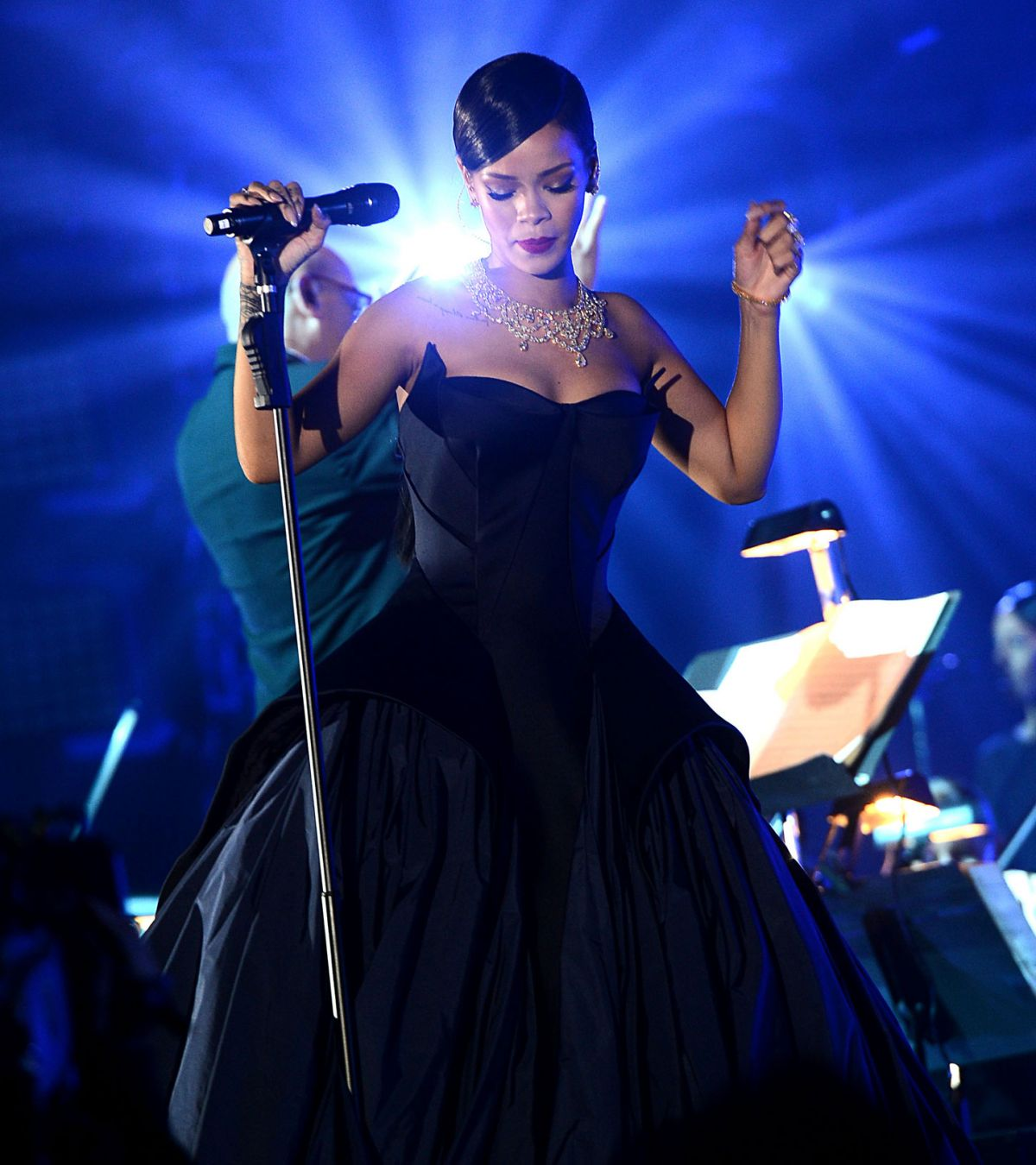 Rihanna Performs At 1st Annual Diamond Ball Benefitting