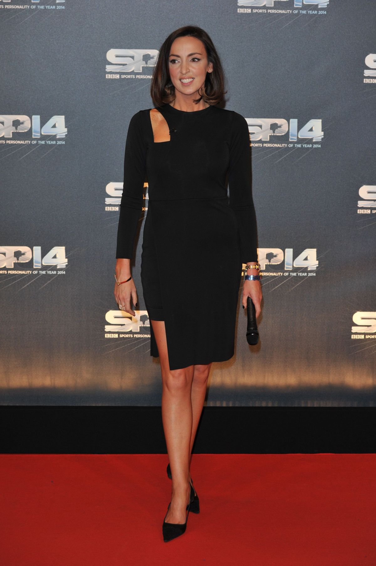 SALLY NUGENT at BBC Sports Personality of the Year Awards in Glasgow