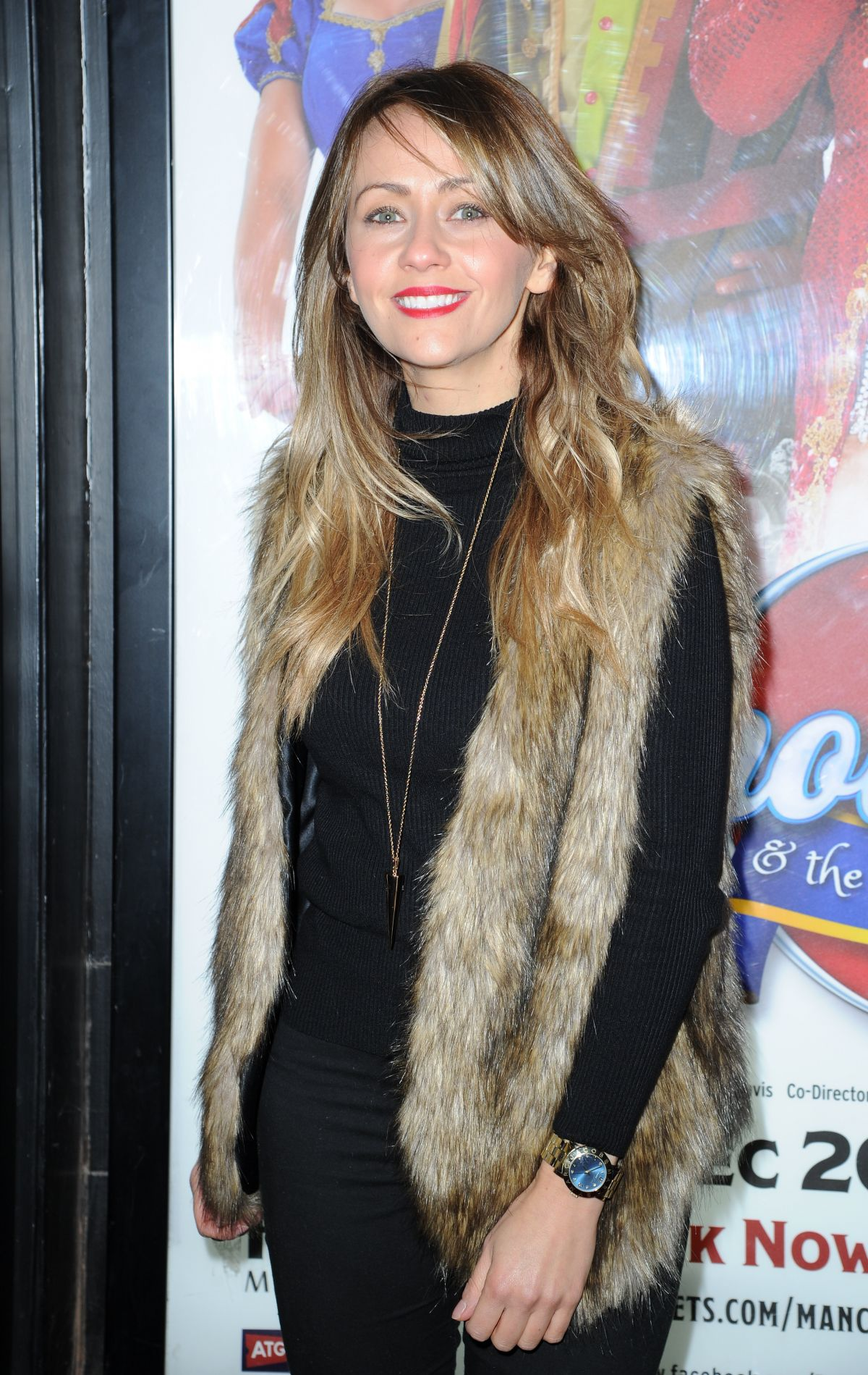 SAMIA GHADIE at Snow White and the Seven Dwarfs Press Night in Manchester