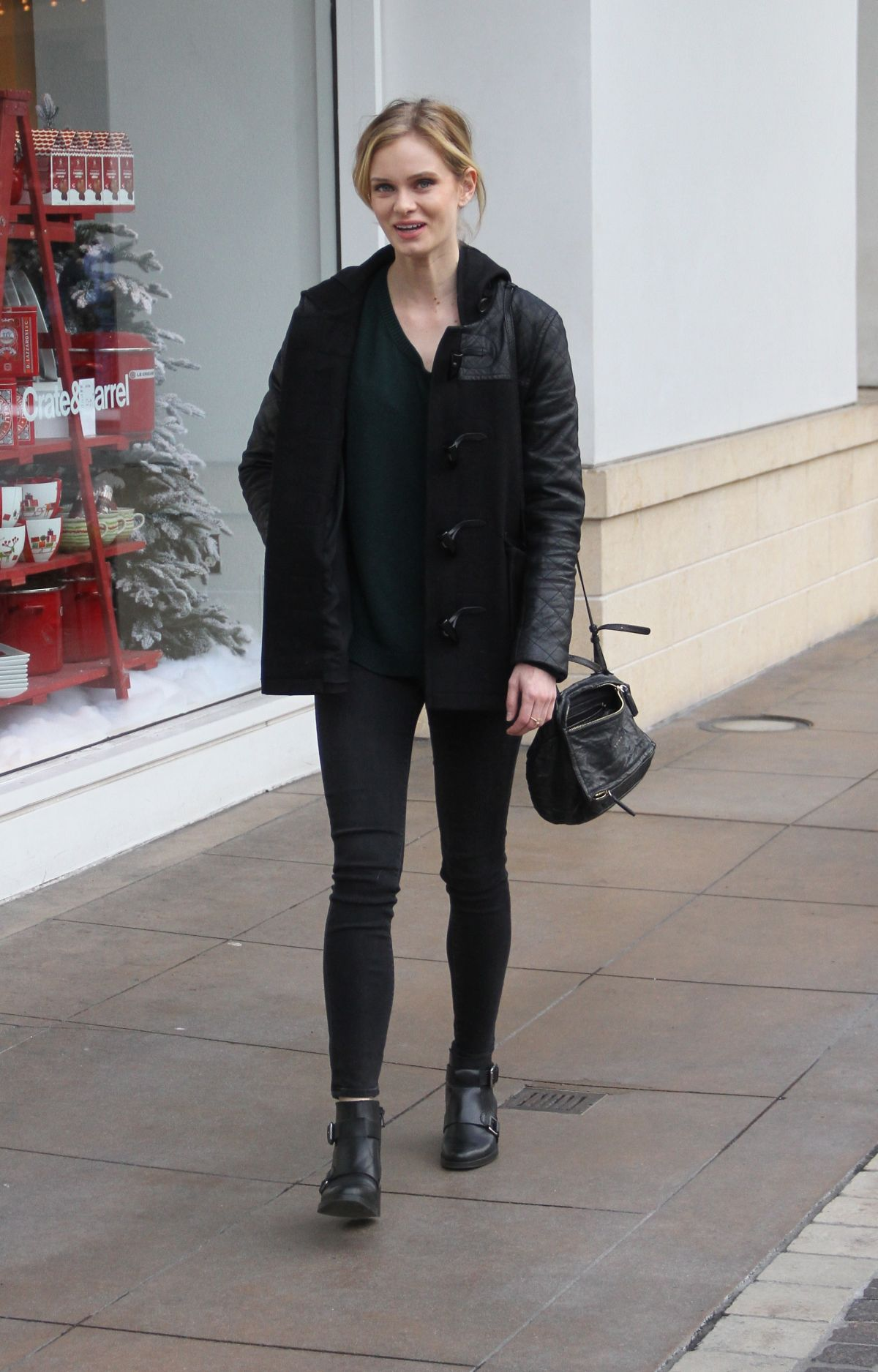 SARA PAXTON Out Shopping in Hollywood 1712