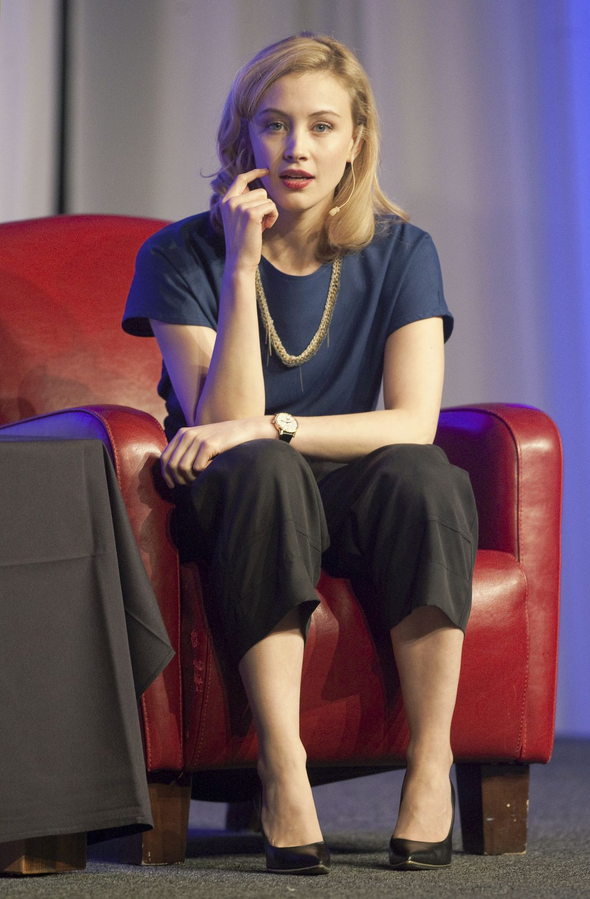 Sarah Gadon At Whistler Film Festival In Canada Hawtcelebs