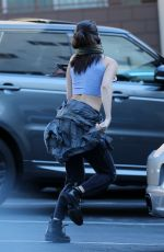 SELENA GOMEZ Arrives at a Recording Studio in Beverly Hills