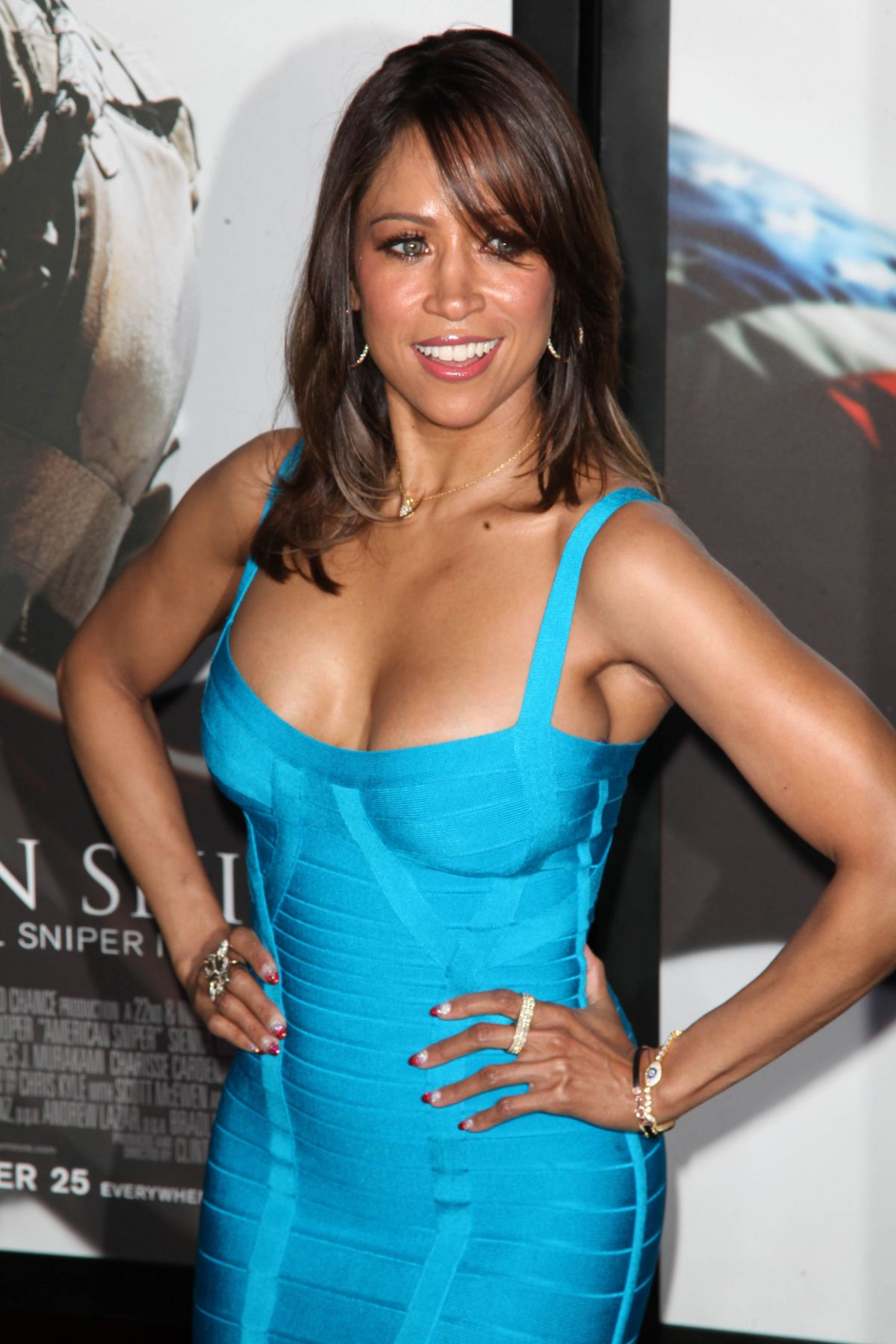 STACEY DASH at American Sniper Premiere in New York