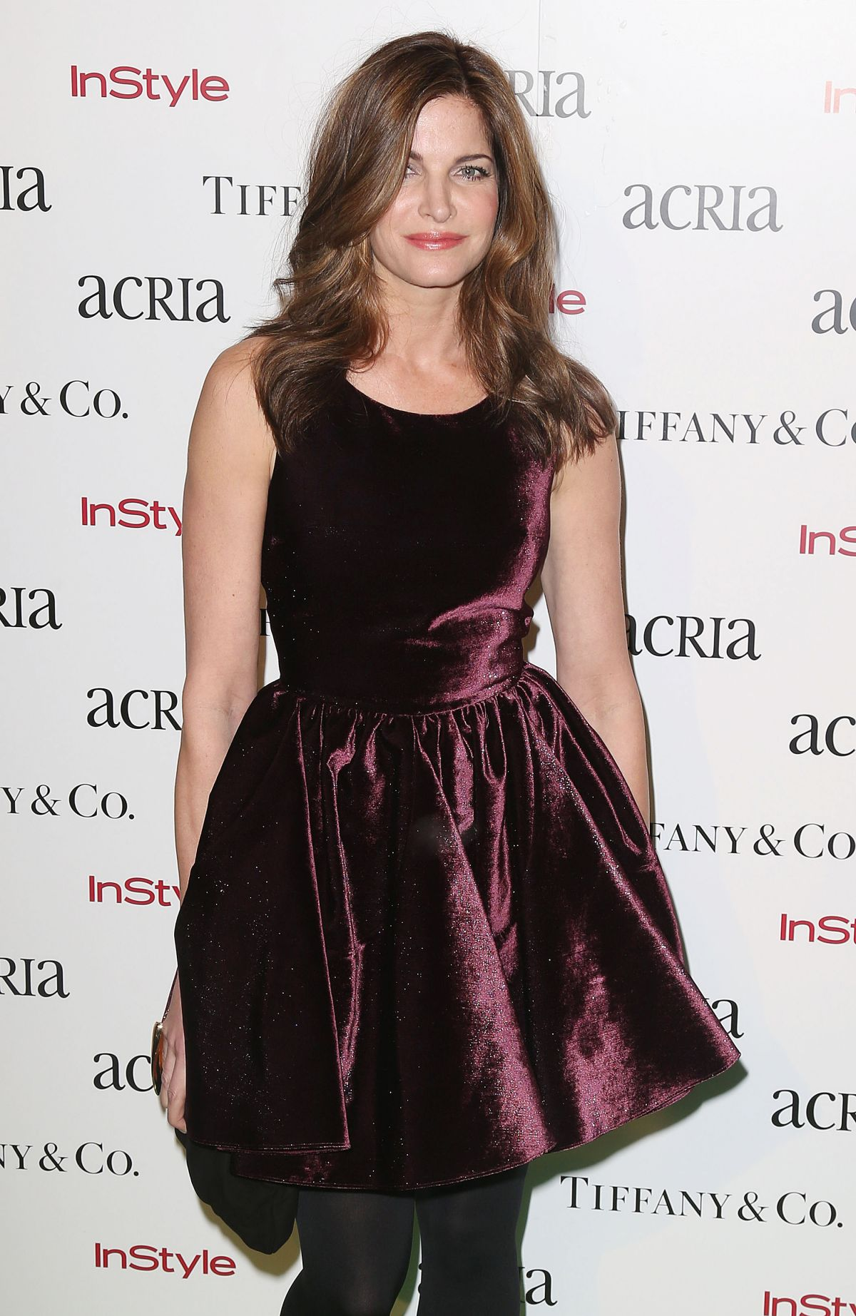 STEPHANIE SEYMOUR at 2014 Acria Holiday Dinner in New York