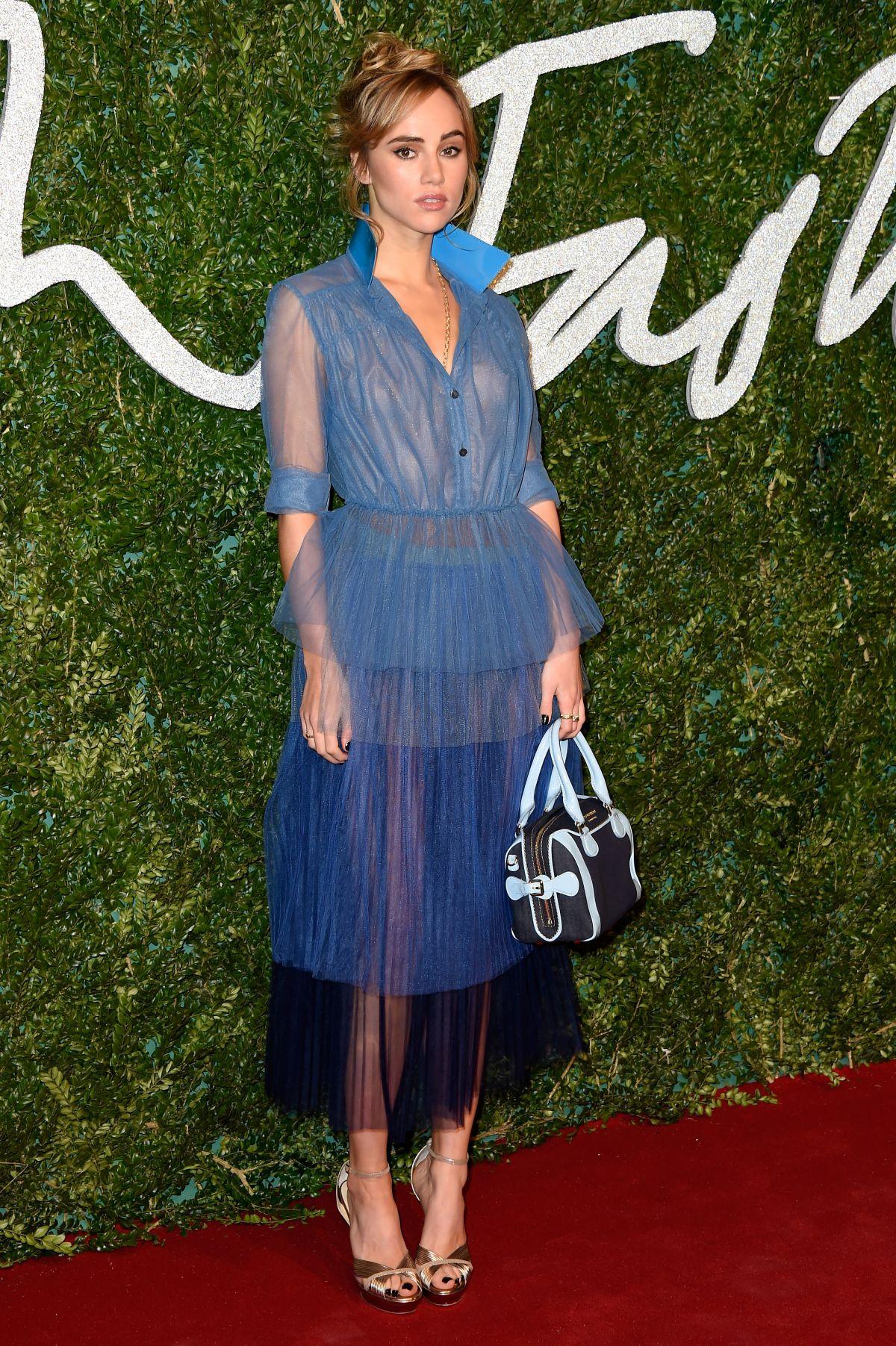 Fashion Awards 2017 In London: SUKI WATERHOUSE At British Fashion Awards 2014 In London