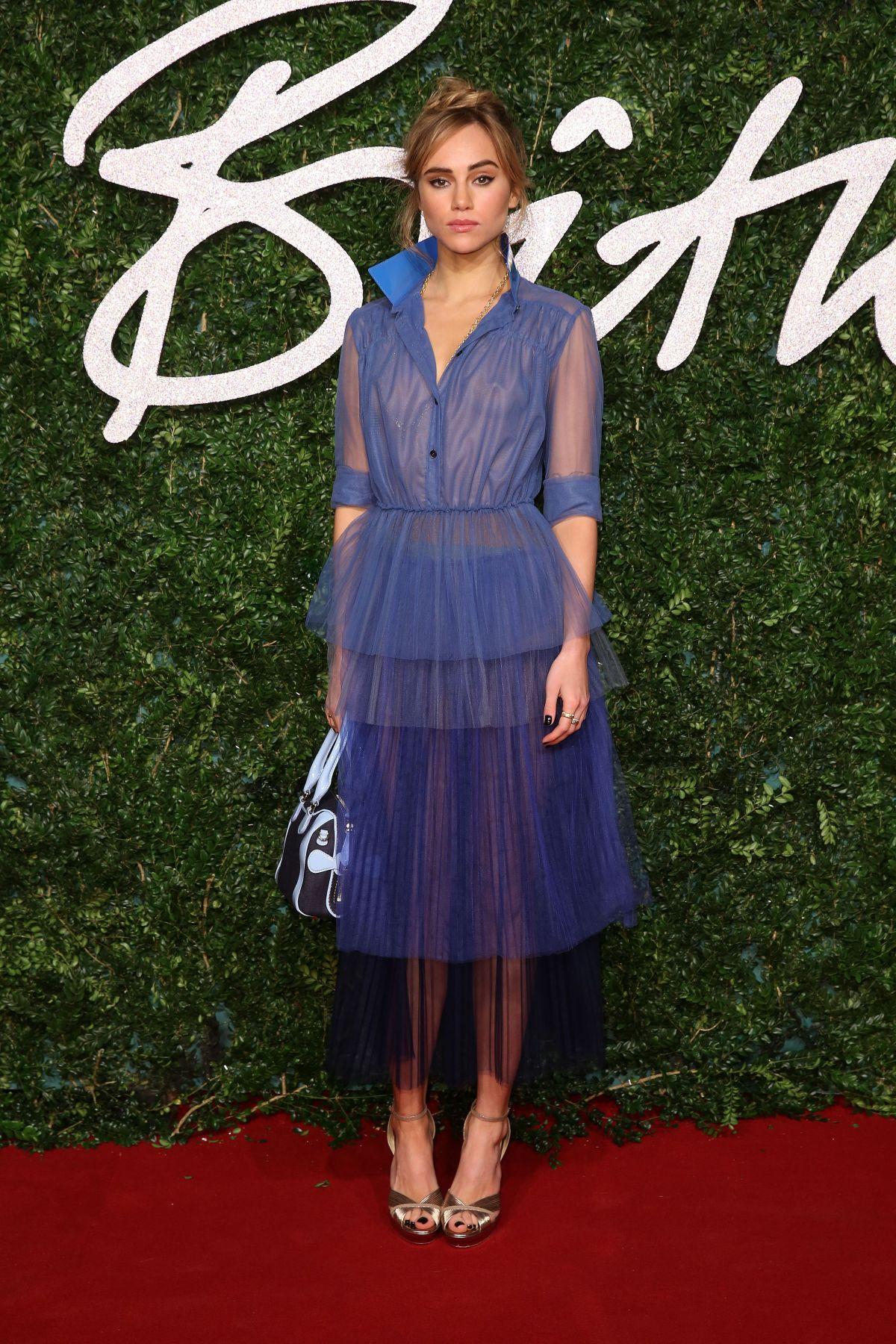 Suki Waterhouse At British Fashion Awards 2014 In London Hawtcelebs