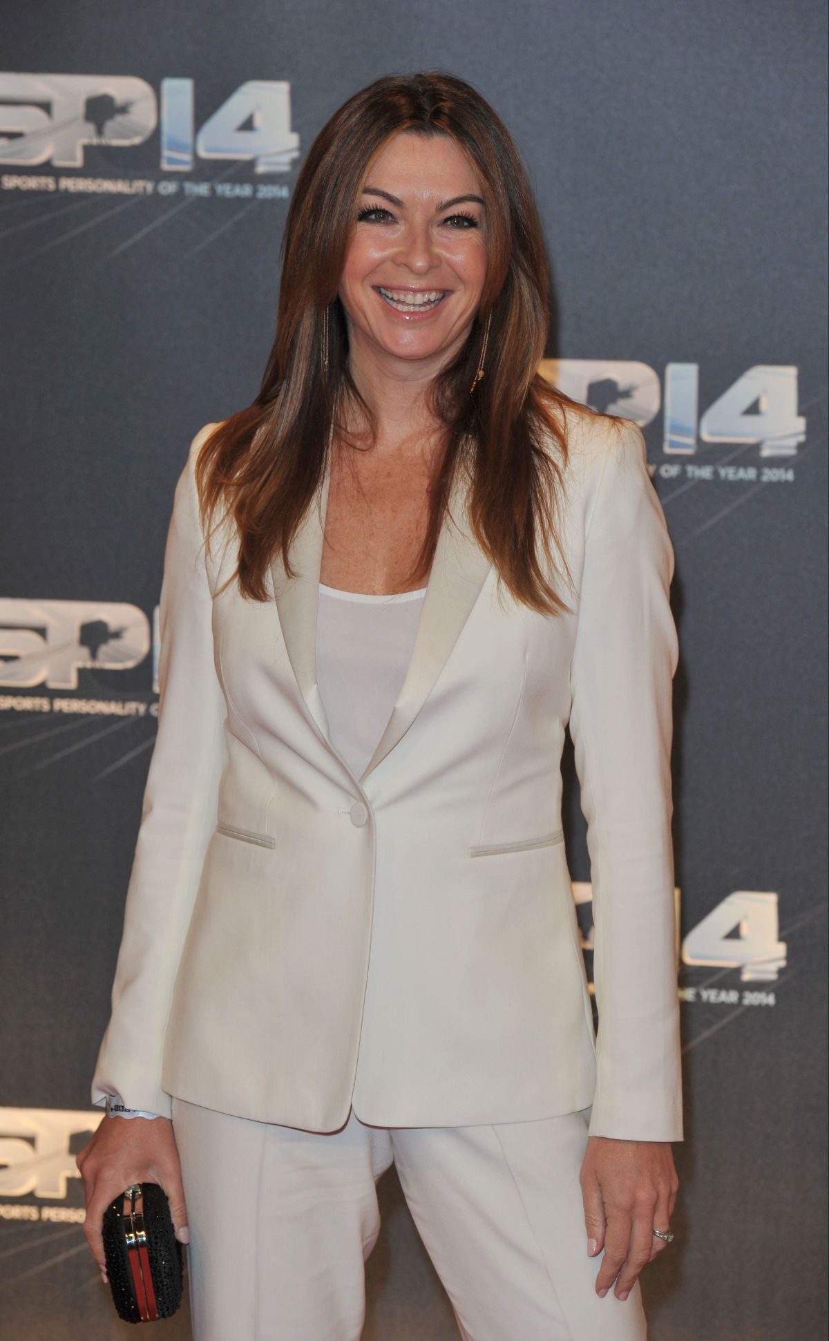 SUZI PERRY at BBC Sports Personality of the Year Awards in Glasgow