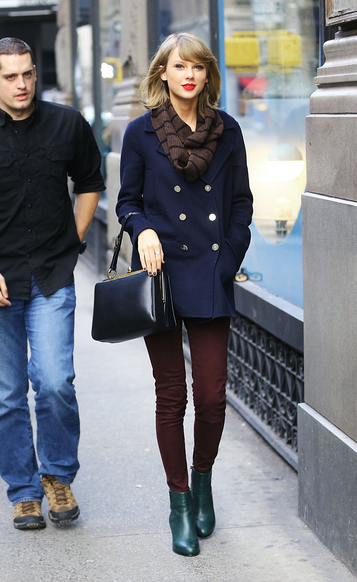 Taylor Swift Out And About In New York Hawtcelebs