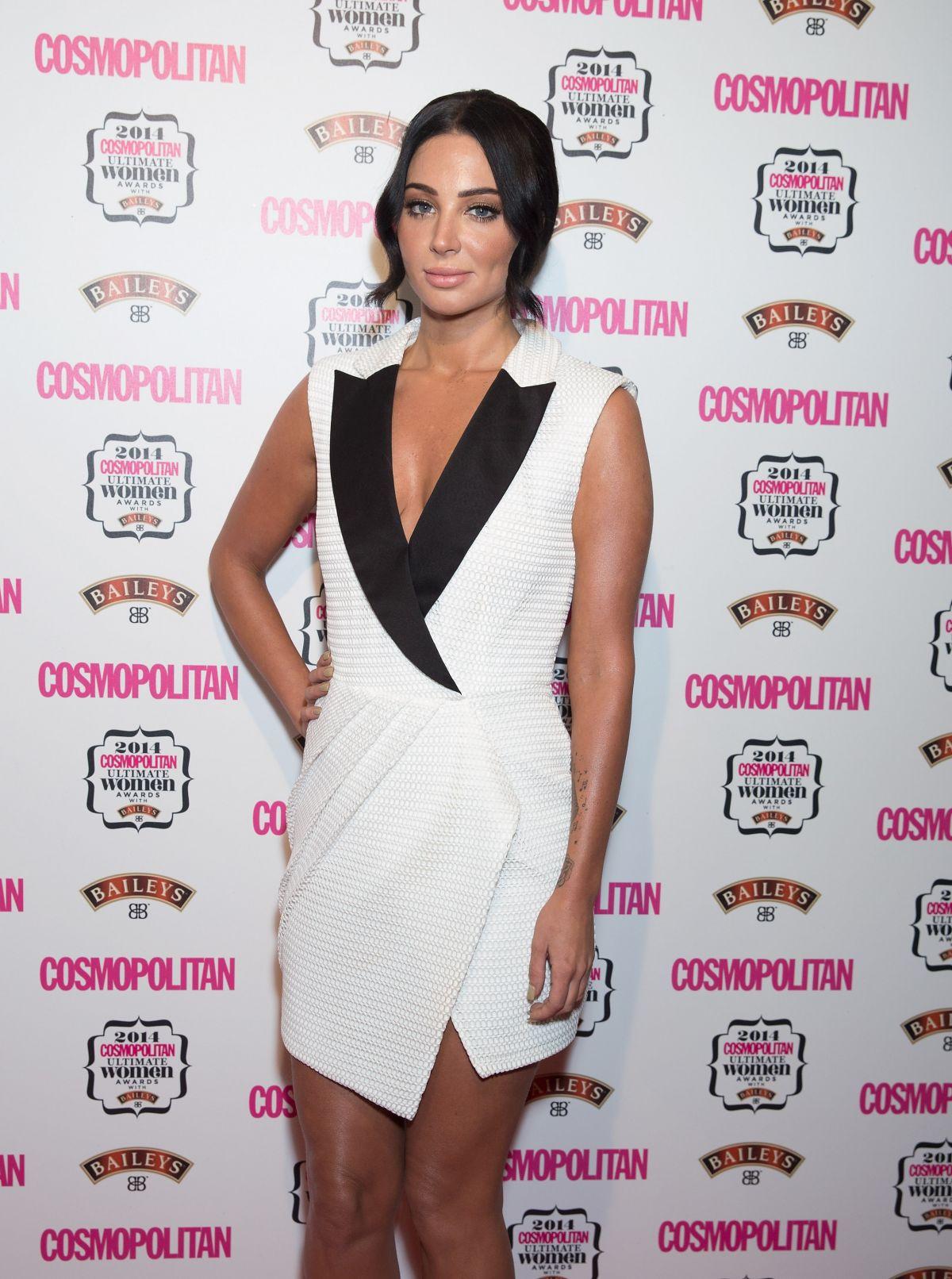 TULIS CONTOSTAVLOS at Cosmopolitan Ultimate Women Awards 2014 in London
