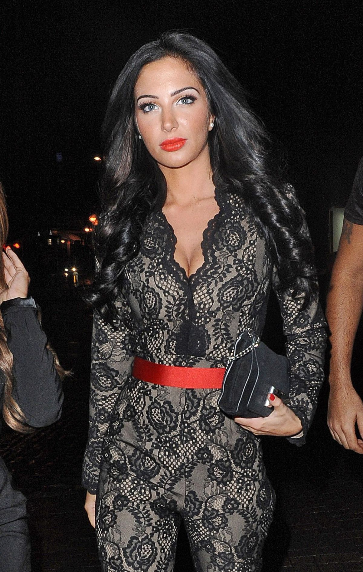 TULISA CONTOSTAVLOS Night Out in Manchester