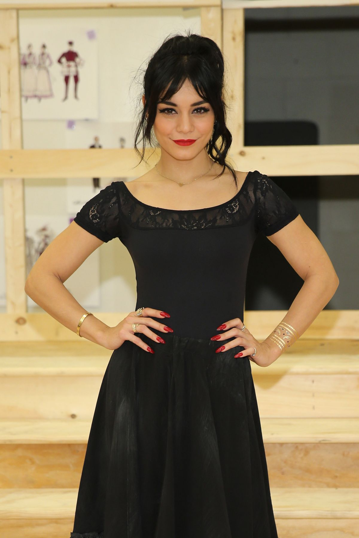 VANESSA HUDGENS at Gigi Broadway Press Preview in New York ...