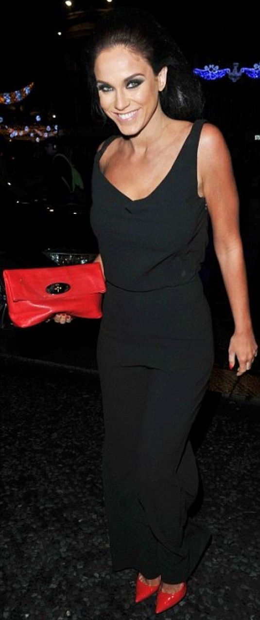 VICKY PATTISON Arrives at Fat Buddha Bar in Newcastle