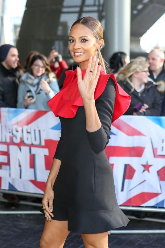 ALESHA DIXON at Britain's Got Talent Auditions