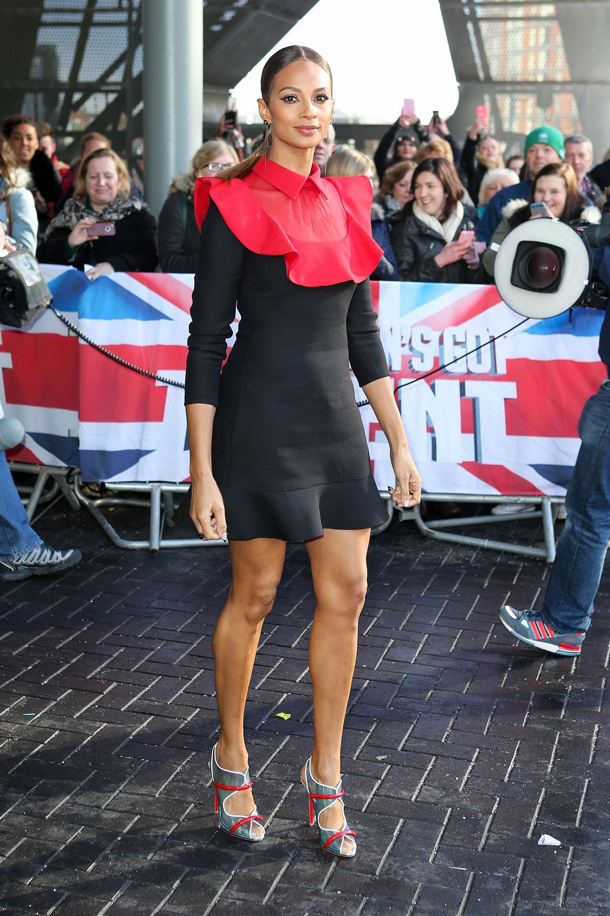 ALESHA DIXON At Britains Got Talent Auditions In