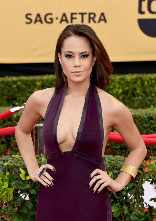 ALEX HUDGENS at 2015 SAG Awards